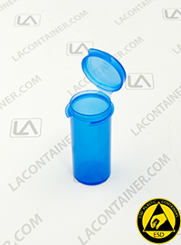 Lacons® 102000-BAS Blue Static Dissipative ESD Plastic Containers