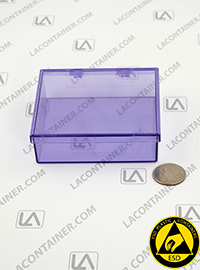 Static Dissipative Plastic Boxes BAS 353010