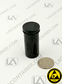 Lacons® 102000-CAS Black Conductive ESD Plastic Containers