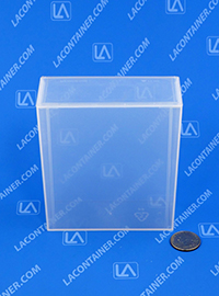Flex-A-Top FT104 Small Hinged Lid Plastic Boxes