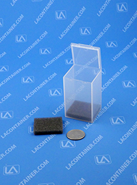 FT19SF Grey Soft Foam Inserts For FT19 Square Containers 100/Box