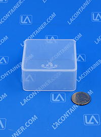 Flex-A-Top FT33 Small Hinged Lid Plastic Boxes