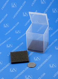 FT42SF Grey Soft Foam Inserts For FT42 Square Containers 100/Box
