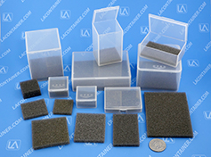Grey Square Soft Foam Inserts