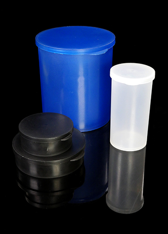Statcons Large Two Piece ESD Inhibiting Plastic Containers