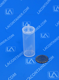 Polyvials EP191 Small Hinged-Lid Lab Vials
