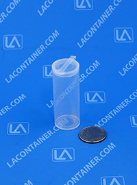 Polyvials EP2400 Small Hinged-Lid Lab Vials