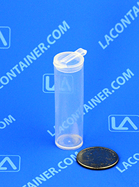 Polyvials EP290 Small Hinged-Lid Lab Vials
