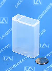 Flex-A-Top FT16-SL Small Hinged Lid Plastic Boxes With Split Lid