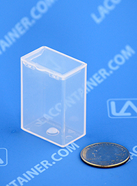 Flex-A-Top FT4 Small Hinged Lid Plastic Boxes