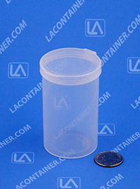 Lacons® 203150 Hinged-Lid Plastic Container