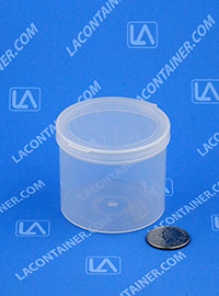 Lacons® 252150 Hinged-Lid Plastic Container