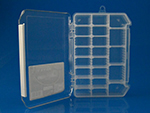 Rectangle - Clear Multi movable Compartment