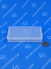 Flex-A-Top® SB422705 Small Hinged-Lid Plastic Boxes