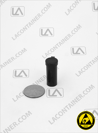 Lacons® 051150 CAS Black Conductive ESD Plastic Containers