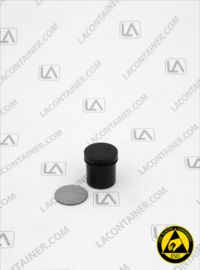 Lacons® 101000 Round Hinged-Lid Conductive (CAS) Vials