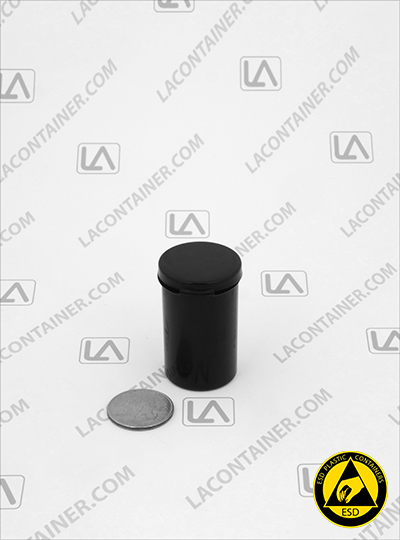 Lacons® 121900-CAS Black Conductive ESD Plastic Containers