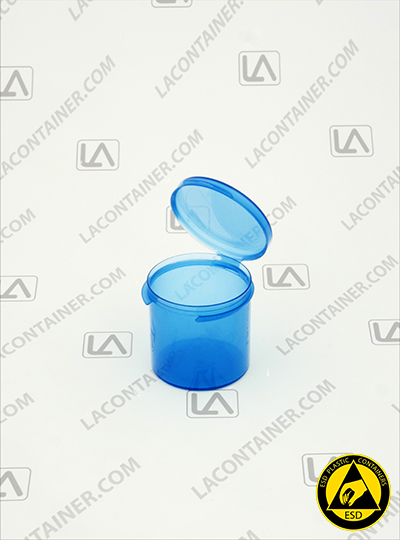 Lacons® 151500-BAS Blue Static Dissipative ESD Plastic Containers