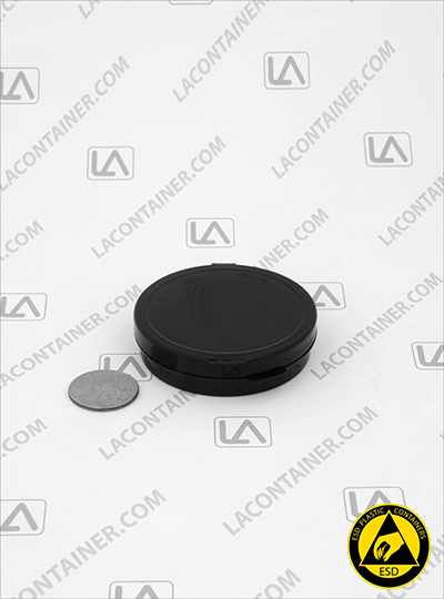 Lacons® 250675-CAS Conductive Anti Static (ESD) Plastic Container