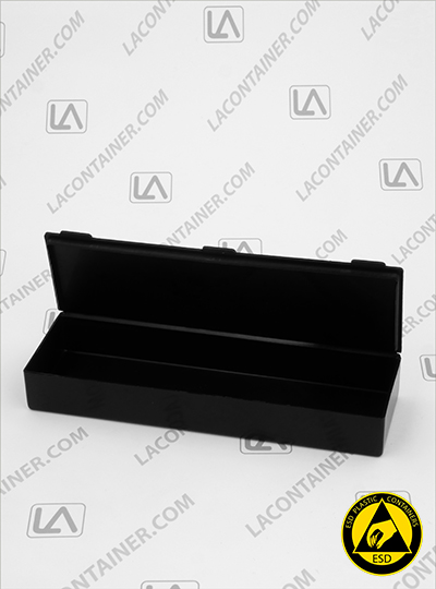 Flex-A-Top FT20-CAS Small Black Conductive ESD Plastic Box