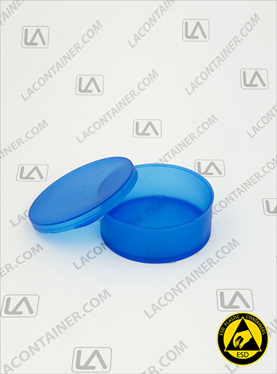 Statcons SC4011-BAS Blue Static Dissipative ESD Plastic Container