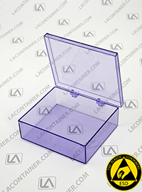 Laboxx 353010-BAS Blue Static Dissipative ESD Plastic Boxes