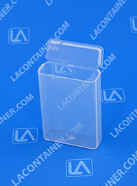 Flex-A-Top FT7-SL Small Hinged Lid Plastic Box With Split Lid