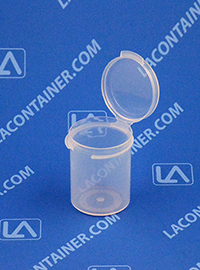 Lacons® 121500 Hinged-Lid Plastic Container