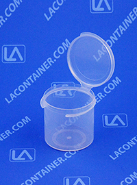 Lacons® 151500 Hinged-Lid Plastic Container