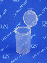 Lacons® 152500 Hinged-Lid Plastic Container