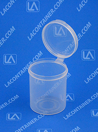 Lacons® 202450 Hinged-Lid Plastic Container