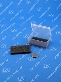 FT14SF Grey Soft Foam Inserts For FT14 Square Containers 100/Box