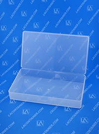 Flex-A-Top FT123 Small Hinged Lid Plastic Boxes