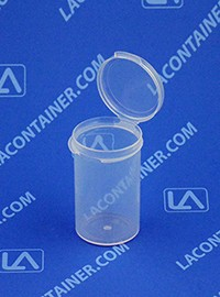 Lacons® 121900 Hinged-Lid Plastic Container